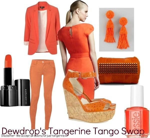 Let's Tangerine Tango! Swap with Us June 30!