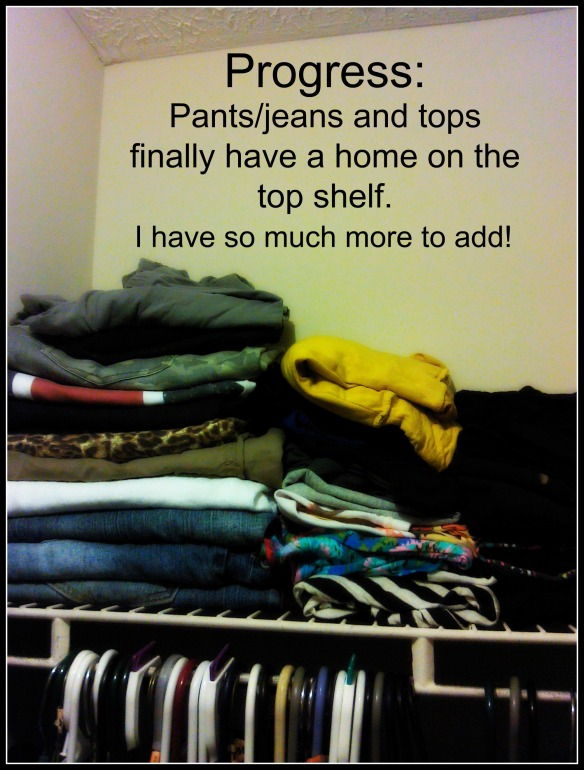 Pants top shelf